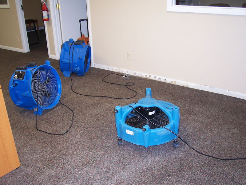 Carpet Flood Water Damage Restoration