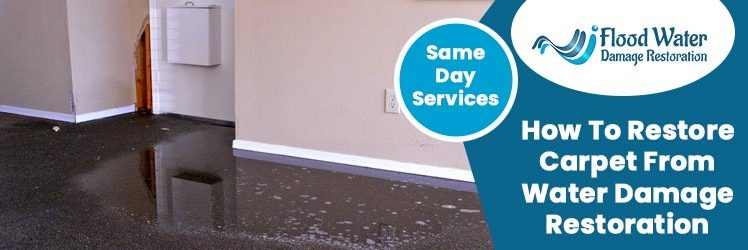 How to Restore Carpet from Water Damage Restoration